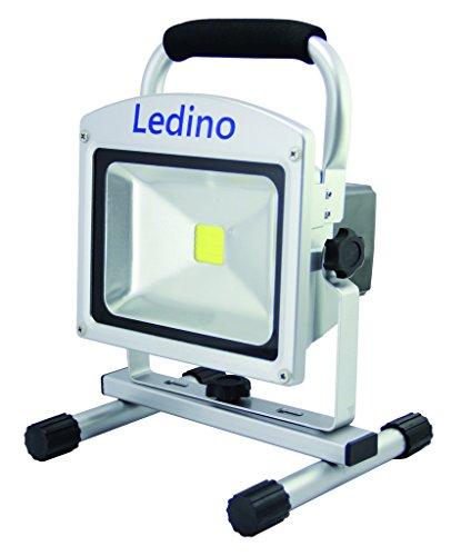 Ledino 20 W LED-Akkustrahler mit Li-Ionen Akku 10.4 Ah, dimmbar