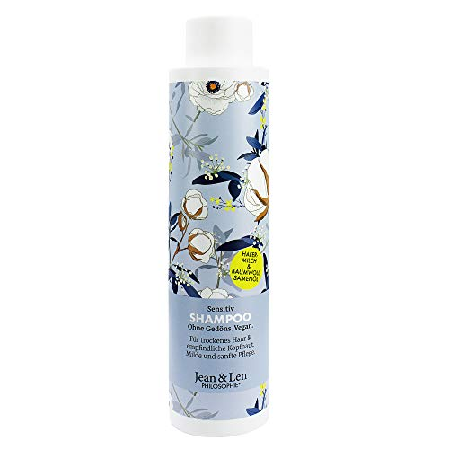 Jean & Len 2800100101 Philosophie Shampoo Sensitiv Hafermilch & Baumwollsamenöl