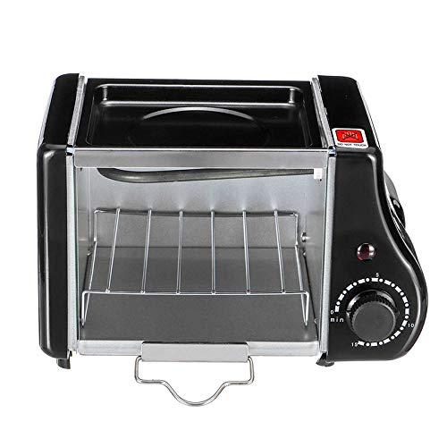 LKW Mini elektrische Backen-Bratpfanne, Mini 1.5L Ofen-Frühstücksbar-Sandwich-Maschinen-Brot-Ofen-Küchenwanne 220v / 220W