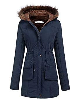 Meaneor Womens Warm Down Long Parka Winter Jacket Coats