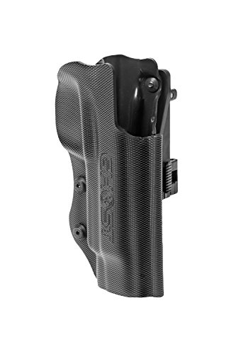 Ghost – Civilian 3G Holster for Concealed Carry – Both for Police, Military as Well for Sport (IDPA, IPSC and Action Shooting) with Opening Clip. (CZ sp01 Right)
