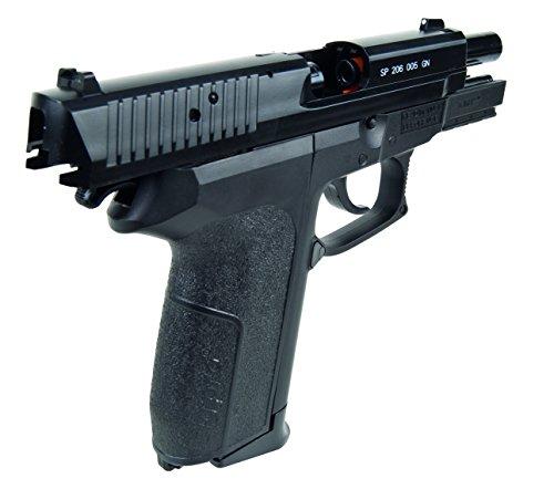 Sig Sauer Softair Pistole Sig Sauer SP2022 H.P.A. (<0,5 Joule) - Arma de Airsoft (0,5 Julios, 6 mm), Color Negro