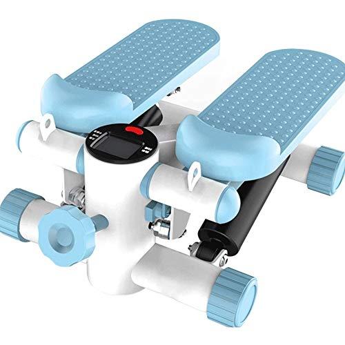 Hammer Eléctrica máquina elíptica entrenador, Escritorio elíptica con construido en la pantalla del monitor, tranquilo y compacto, mini hidráulica multifuncional deportivo del pedal del pie, paso a pa