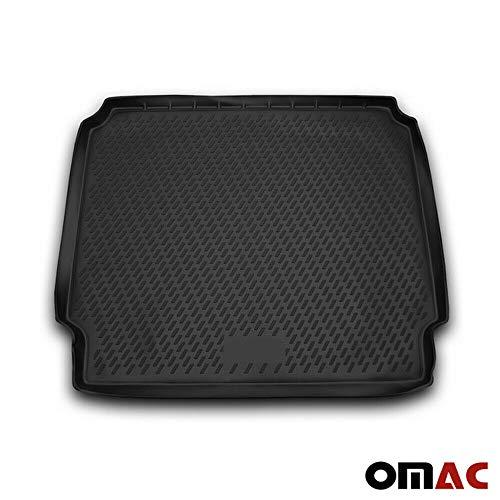 OMAC GmbH Kofferraumwanne Antirutschmatte Gummi Allwetter schwarz fahrzeugspezifisch für Zafira C ab 2011