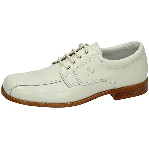 YOWAS 6894 Zapatos Piel Beige NIÑO Zapato COMUNIÓN BEIG 38