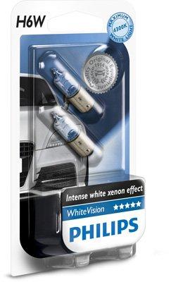 Philips - Blanco Vision Ultra H6W 12036WHVB2 (par)
