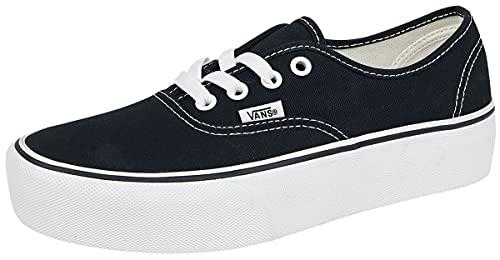 Vans Old Skool Platform, Sneaker Donna, Nero (Black/Black Bka), 38.5 EU