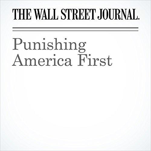 Punishing America First copertina