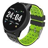 Pressione Men Watch intelligente donne della vigilanza Heart Rate Monitor Sangue sonno Fitness Tracker Contapassi intelligente Guarda