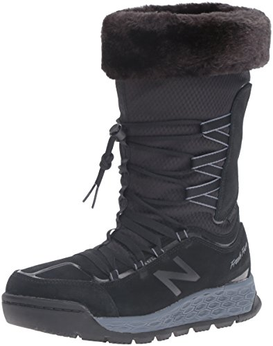 New Balance Fresh Foam 1000 m, Botas de Nieve Mujer, Negro (Black), 41 EU