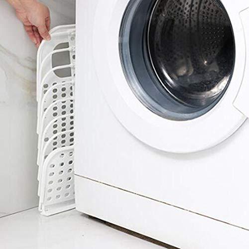 Wall-Mounted Folding Storage Basket,Hanging Laundry Hamper Basket,Women Collapsible Laundry Baskets,Foldable Storage Basket,Foldable Storage Basket (White)