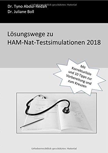 Lösungswege zu HAM-Nat-Testsimulationen 2018: Mit Korrekturliste und 10 Tipps zur Vorbereitung und zum Kreuzen
