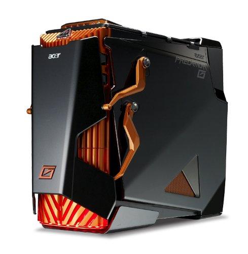 Acer Predator G7750 Desktop PC, Intel Core i7-930, 4GB RAM, 500GB HDD, DVD-RW, GTX460 (1GB) Graphics, Gaming Mouse and Keyboard, Liquid Cooling (Windows 7 Home Premium)