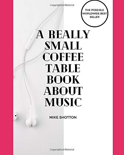 a small coffee table book about music