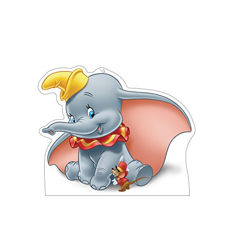 Advanced Graphics Dumbo Life Size Cardboard Cutout Standup - Disney's Dumbo