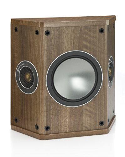 Monitor Audio Bronze FX Dipol/Bipollautsprecher, Farbe: Walnut, 1 Paar