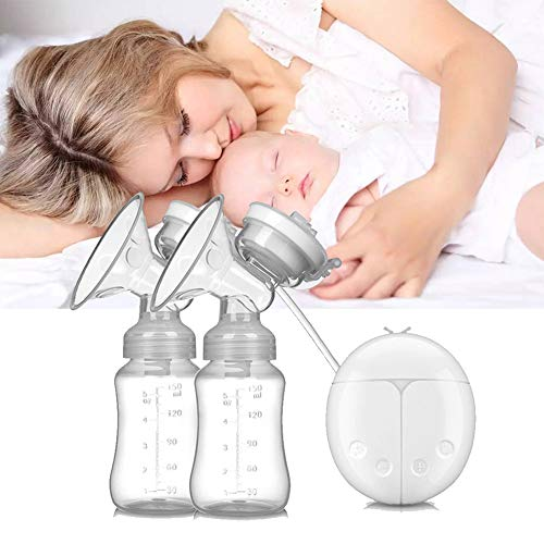 Best Deals! Electric Breast Pump Powerful Breastfeeding USB Natural Latch Milk Bottle Feeding BPA Fr...