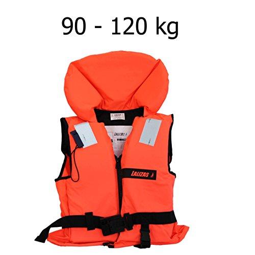 Lalizas Schwimmweste Rettungsweste 90 - 120 kg ISO 12402-4 zertifiziert