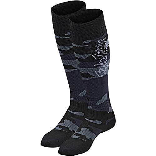 Troy Lee Designs GP MX Coolmax Thick Socks - Camo LE (Black)