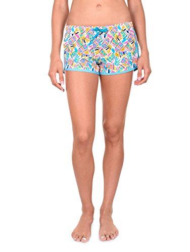 Womens Boombox Beach Shorts: X-Small, Boombox