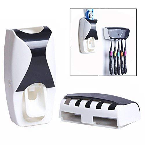 Gearmax® Dentifricio automatico Dispenser dentifricio spremiagrumi / dente portaspazzole Set