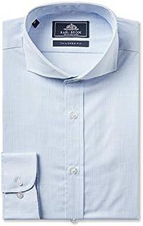 Rael Brook Camisa de corte entallado con puño único a cuadros
