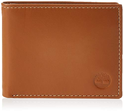 Timberland Men's Cloudy Passcase, Tan, One Size