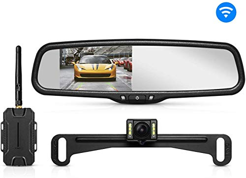 AUTO-VOX T1400 Upgrade Wireless Backup Camera Kit, Easy Installation...