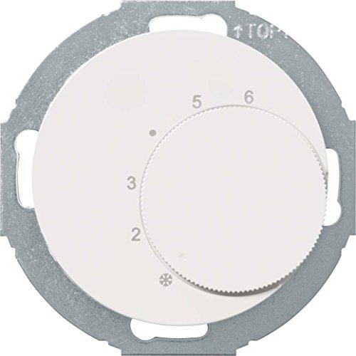 Berker Temperaturregler 20262079 pws/glänz R.Classic Raumthermostat 4011334393511