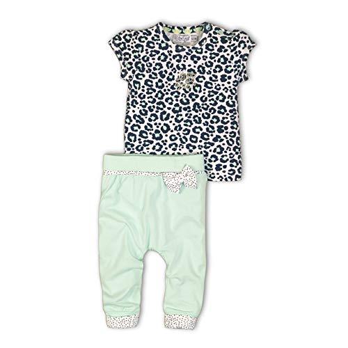 DIRKJE Baby Girl 2er Set Tunika Hose, Größe:80, Farbe:Grün