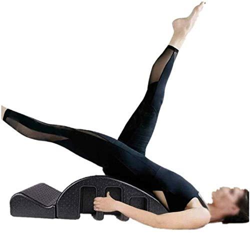 Pilates Spine columna Yoga Masaje Arco Cama Pilates Multi Cama función de masaje Pilates Mesa de masajes for mejorar la postura de resistencia Pilates Arco Corrector desmontable Yoga equipos de espuma