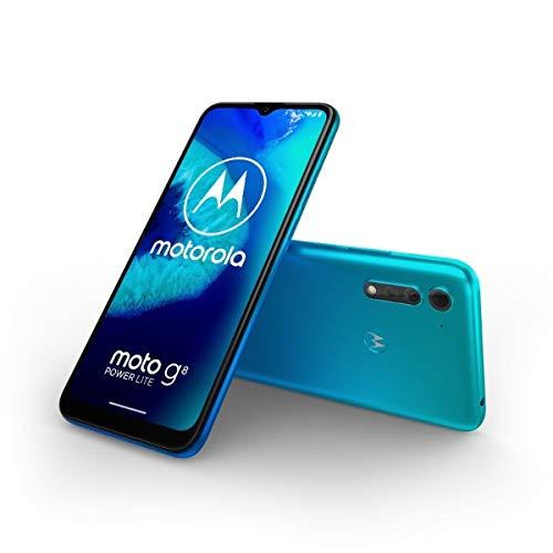 Motorola(モトローラ) moto g8 POWER LITE ポーラブルー[6.5インチ / メモリ 4GB / ストレージ 64GB] PAKB0003JP