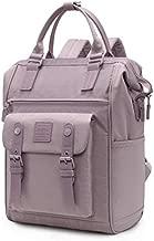 HotStyle ROXXA College Backpack for Women, Doctor-bag Style Minimalist Bookbag for Travel & Work, Pastel Purple