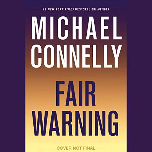 Fair Warning audiobook cover art