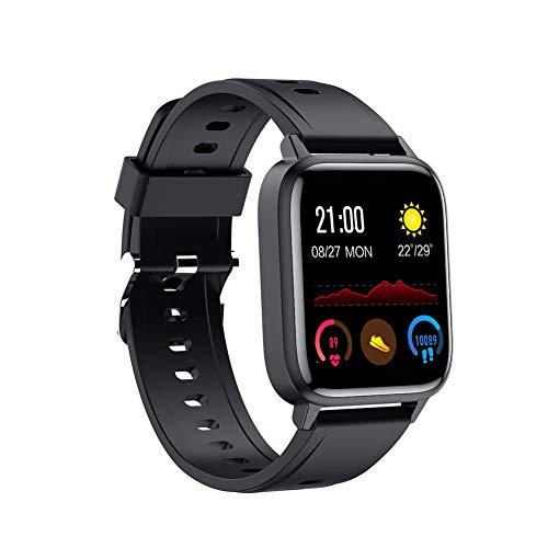 aniceday Reloj inteligente IP68 impermeable multideporte Fitness Tracker en tiempo real Temperatura Monitoreo de la Salud Pulsera