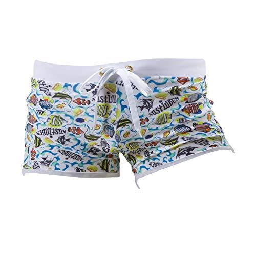 Yowablo Herren Shorts Badepants Sweatshorts Sport Shorts Trainingsshorts Kurze Jogginghose Boxer Shorts Kurze Hose Boxershorts Bermudas Sunbrief (M,2Blau)
