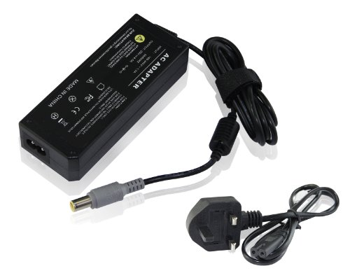 UKOUTLET IBM LENOVO 3000 C100 C112 C200 N100 LAPTOP CHARGER AC ADAPTER 20V 4.5A 90W MAINS BATTERY POWER SUPPLY UNIT INCLUDES POWER CORD C5 CABLE MAINS CLOVER LEAF 3 PRONG UK PLUG LEAD