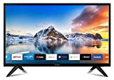 DYON Smart 22 XT 56,4 cm (22 Zoll) Fernseher (Full-HD Smart TV, HD Triple Tuner (DVB-C/-S2/-T2), Prime Video, Netflix & HbbTV) [Modelljahr 2020]