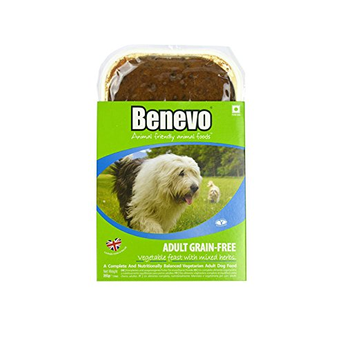 Benevo Adult Grain Free veganes Hundefutter GETREIDEFREI 4 x 395g