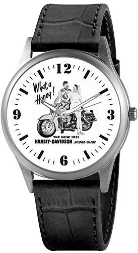 Reloj Cartel Vintage Harley Davidson de 1951