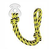 Flytise Cuerda de escape para deportes acuáticos, conector extraíble para esquiar, waterboarding y esquí acuático