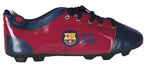 FC_BARCELONA Grande Trousse en Forme DE Chaussure Football -