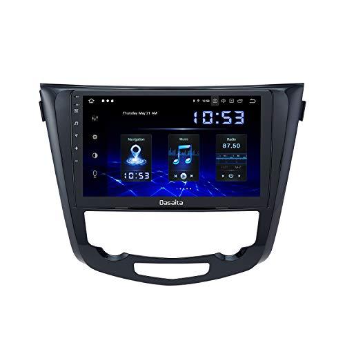 "Dasaita 10.2"" Android 10.0 Autoradio Bluetooth Vivavoce Carplay per Nissan X-Trail Qashqai j11 Rouge 2014-2018 Stereo Auto con Schermo 1280*720 Supporto GPS WiFi USB FM/AM 4G/64G"