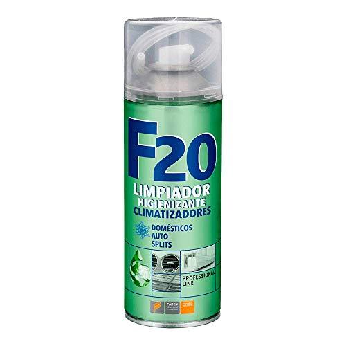 Faren - Limpiador higienizante, desinfectante F20 en aerosol - Transparente - Botella aerosol de 400 mlEl paquete incluye:2 unidades.