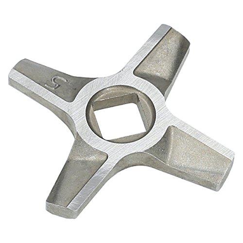 ✧WESSPER® Federmesser/Messereinsatz/Messer/Ersatzmesser für Fleischwolf ZELMER TYP 687.5