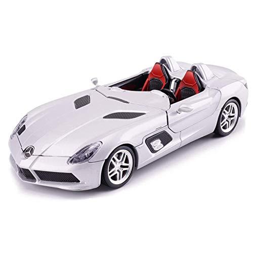 hclshops Modelo de automóvil Mercedes - Mercedes-Benz Modelo de simulación de uno y veinticuatro de fundición a presión de aleación de Juguete Modelo de Coche estática 20x8x3.5CM