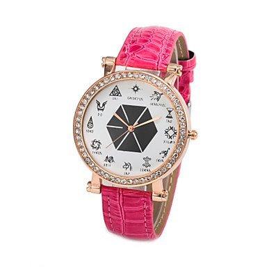 Armbanduhren Moda Donna Thuppaki 12 eotem EXO-QUARZ-analogico Orologio da Polso (Colori Assortiti)