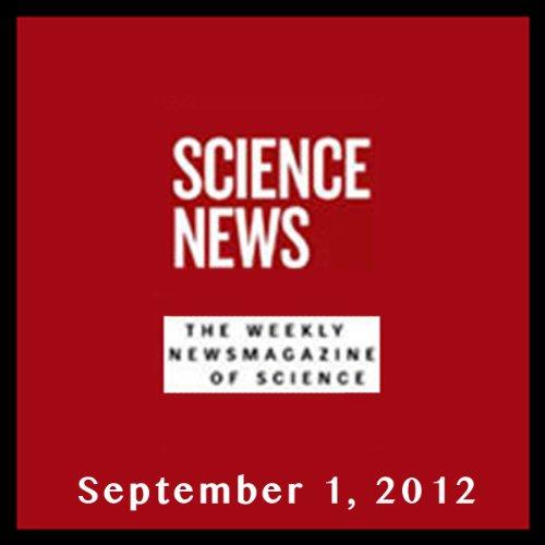Science News, September 01, 2012 cover art