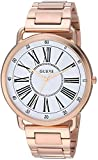 GUESS Women's Quartz Watch with Stainless-Steel Strap, Rose Gold, 20 (Model: U1149L3)