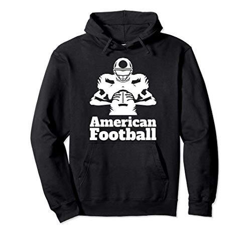 Amercian Football Quaterback Playbook Wide Reciver Offense Pullover Hoodie